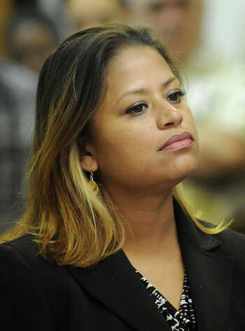 State House candidate Christina Ayala appears in Superior Court in Bridgeport on Monday, September 11, 2012. Ayala is facing charges after police siad she fled the scene of an accident the night of August 15. Photo: Brian A. Pounds / Connecticut Post