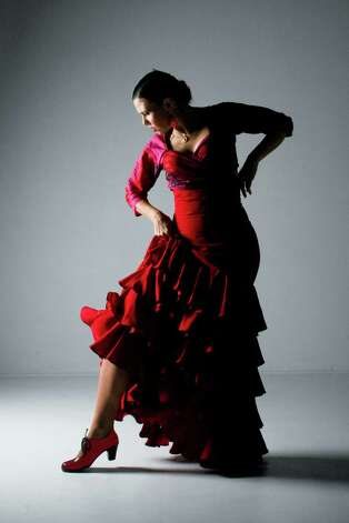 "Olivia Chacon presents a flamenco take on ""The Red Shoes"" during Flamenco Fest. Photo: Courtesy Photo"