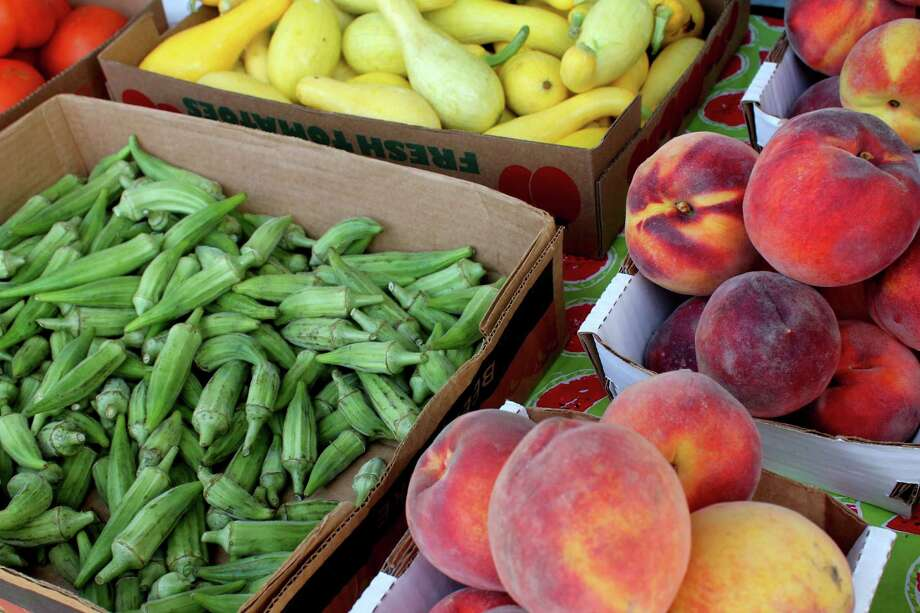 Produce is sold every Saturday at Farmers Market at Imperial Sugar Land, 198 Kempner St. Photo: Suzanne Rehak