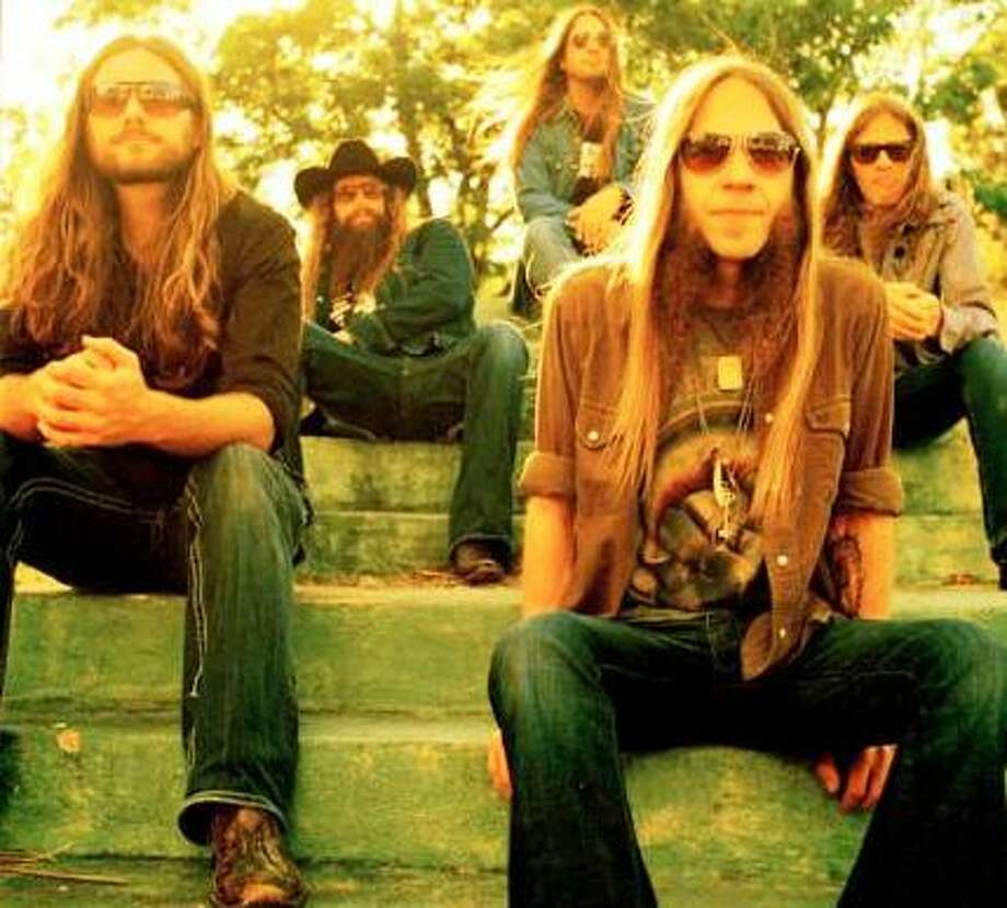 Atlanta outlaw country/rock band Blackberry Smoke will play on Saturday at Floore's. Photo: Courtesy Photo