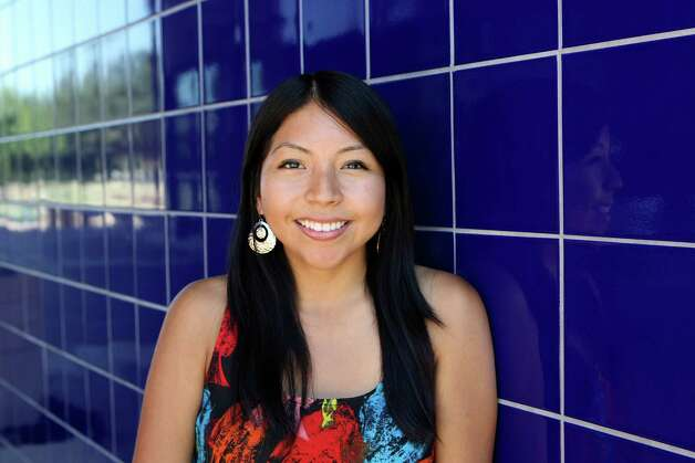 Nancy Juro is assistant director of San Antonio Immigrant Youth Movement. Photo: Helen L. Montoya, San Antonio Express-News / ©SAN ANTONIO EXPRESS-NEWS