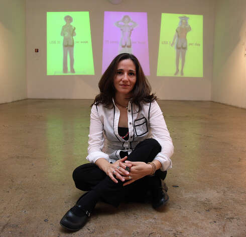 Guillermina Zabala is the media arts director at SAY Sí, filmmaker and photographer. Photo: HELEN L. MONTOYA, SAN ANTONIO EXPRESS-NEWS / SAN ANTONIO EXPRESS-NEWS