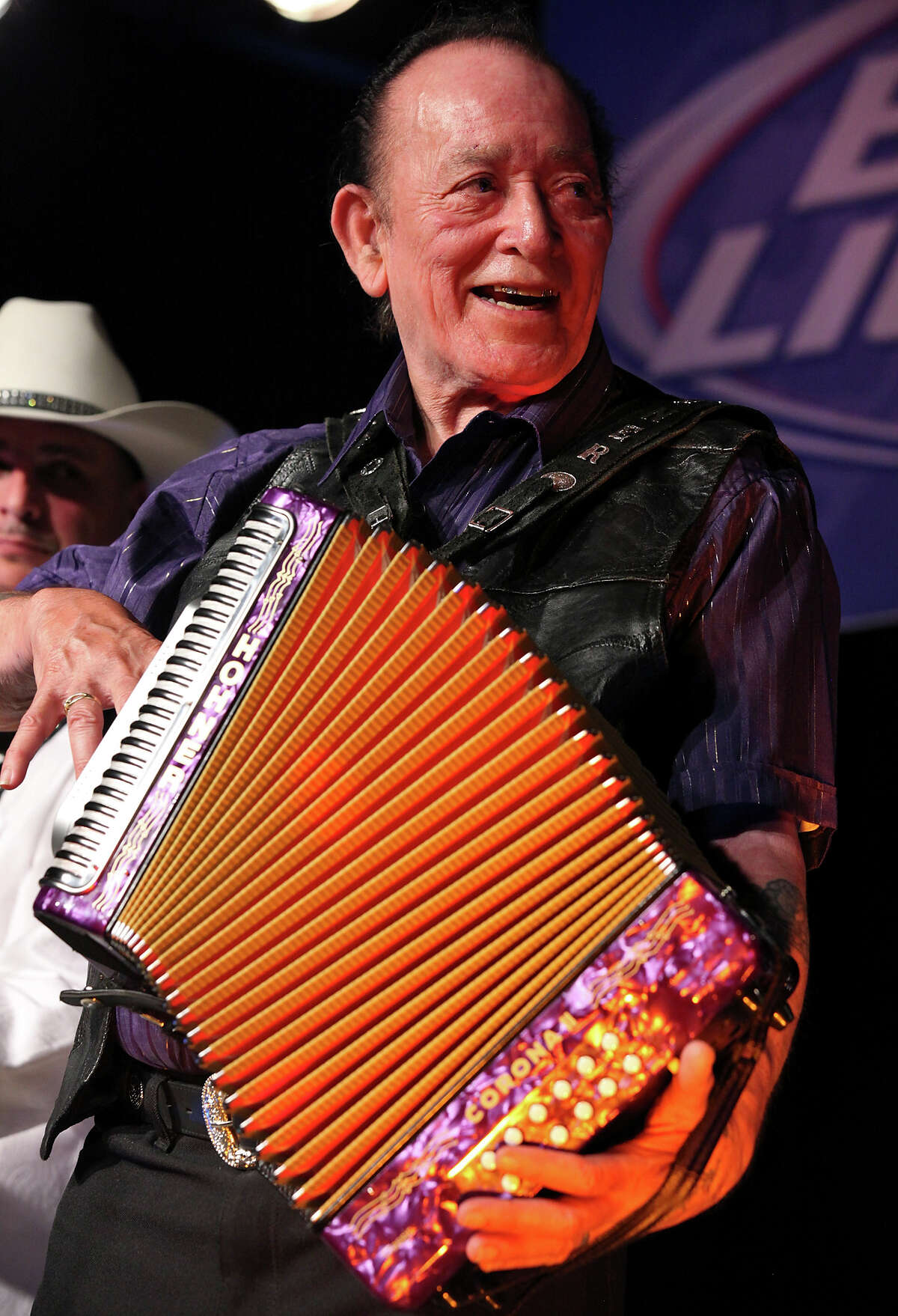 A recipient of the National Endowment for the Arts 2012 National Heritage Fellowship, Flaco Jimenez will be joining the pack onstage.