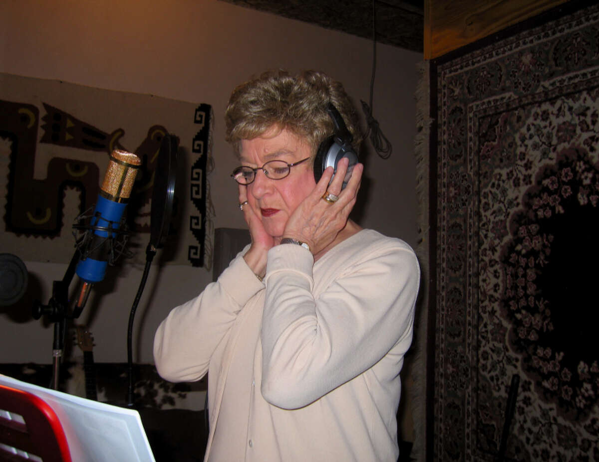 Janis Martin listens during the 2007 recording of