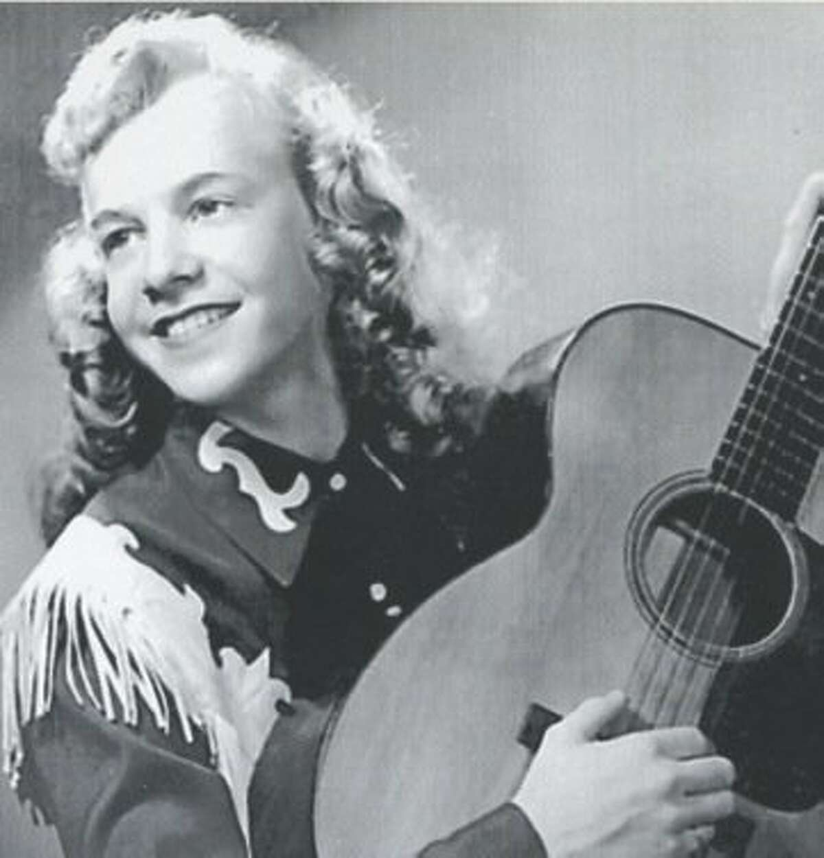 Rockabilly queen Janis Martin in her heyday.