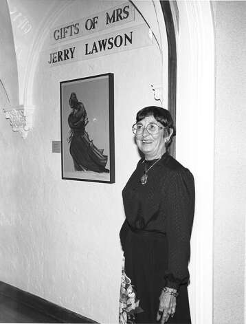 Jerry Lawson funded the Lawson Print Gallery at the McNay Art Museum.