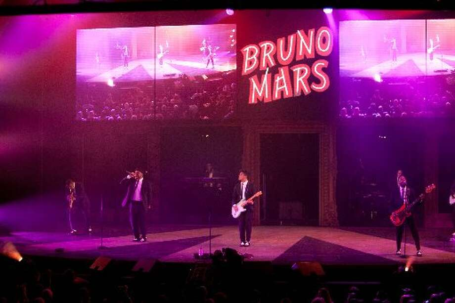 Bruno Mars headlined the entertainment during the 2011 event.  (Drew Altizer / Macy\'s Passport)