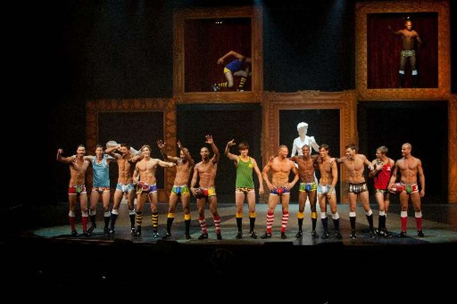 Underwear segment during the 2011 event. (Drew Altizer  / Macy\'s Passport)