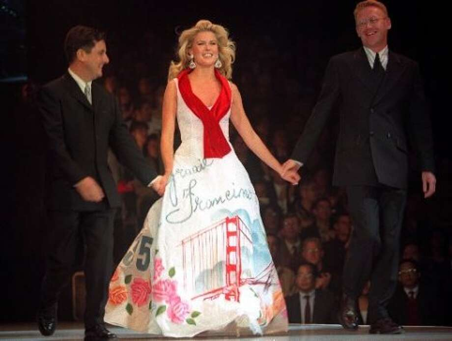 Vendela at Macy's Passport Fashion Show in 1995. (Liz Hafalia / Macy\'s Passport)