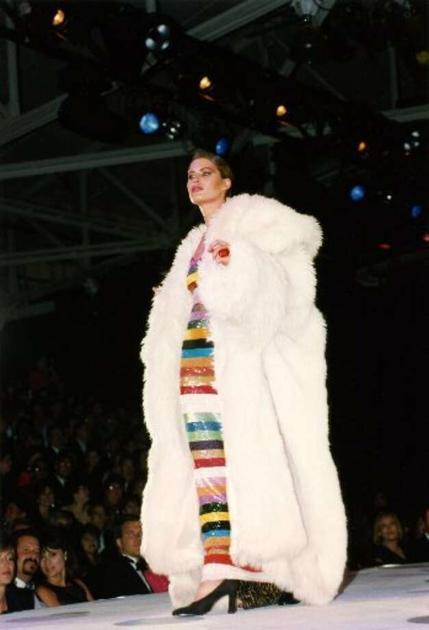 White fur at the event in 1994. (Macy\'s Passport / Macy\'s Passport)