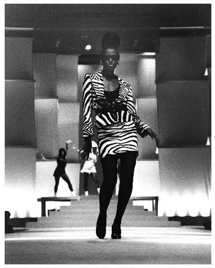 Zebra fashions during the event in 1987. (Macy\'s Passport / Macy\'s Passport)