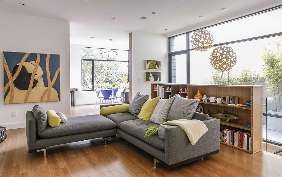 Mimi Chen's EDDIE house's living room is seen on Friday, Aug. 31, 2012 in San Francisco, Calif.