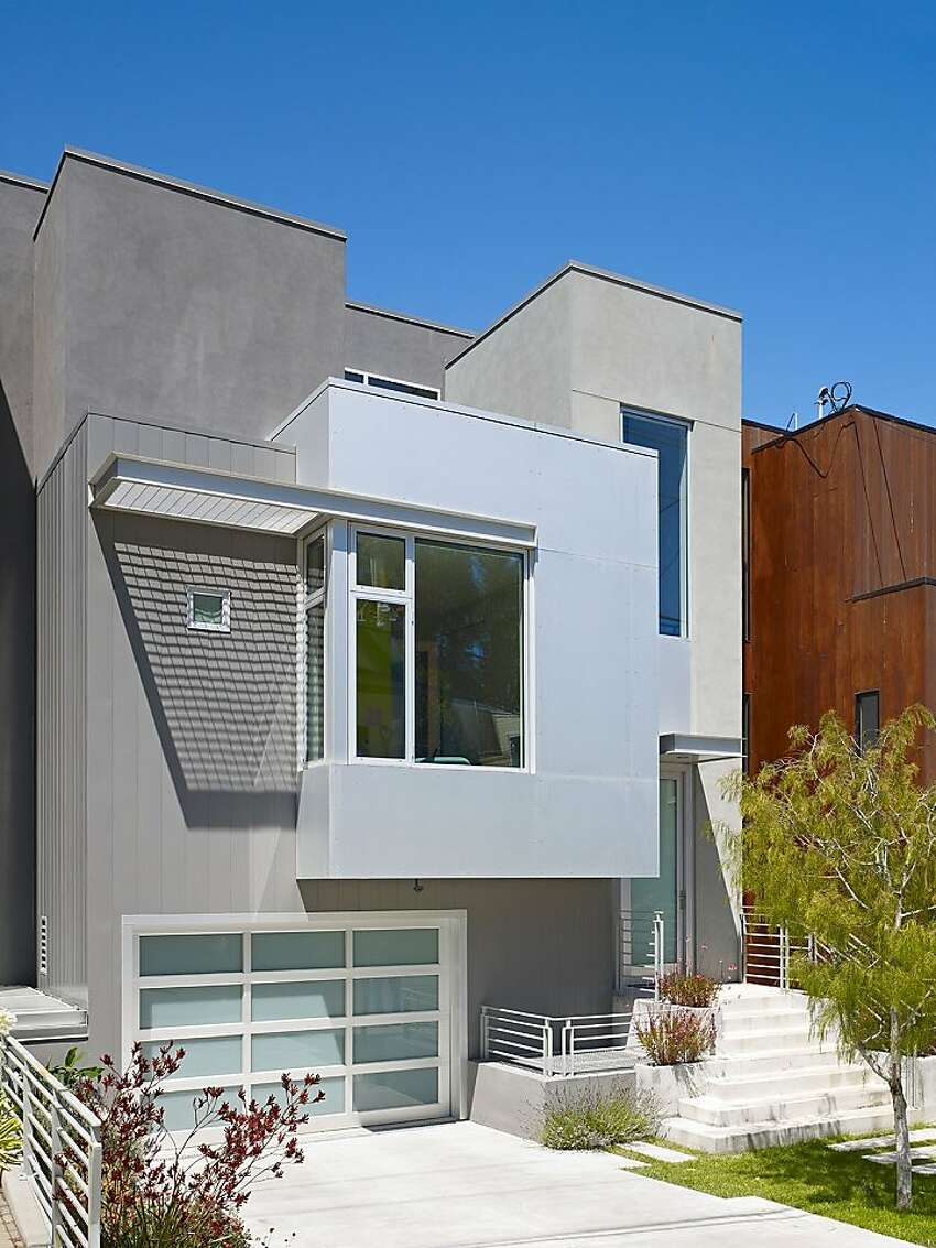 Bernal Heights Residence by Zack de Vito Architecture and Construction features lots of natural light.
