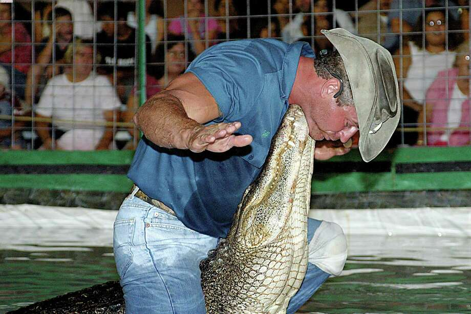 Swampmaster Jeff Quattrocchi, who will catch a live 8-foot alligator, is among the new attractions at the Norwalk Boat Show this year, slated for Sept. 20 to 23. Photo: Contributed Photo