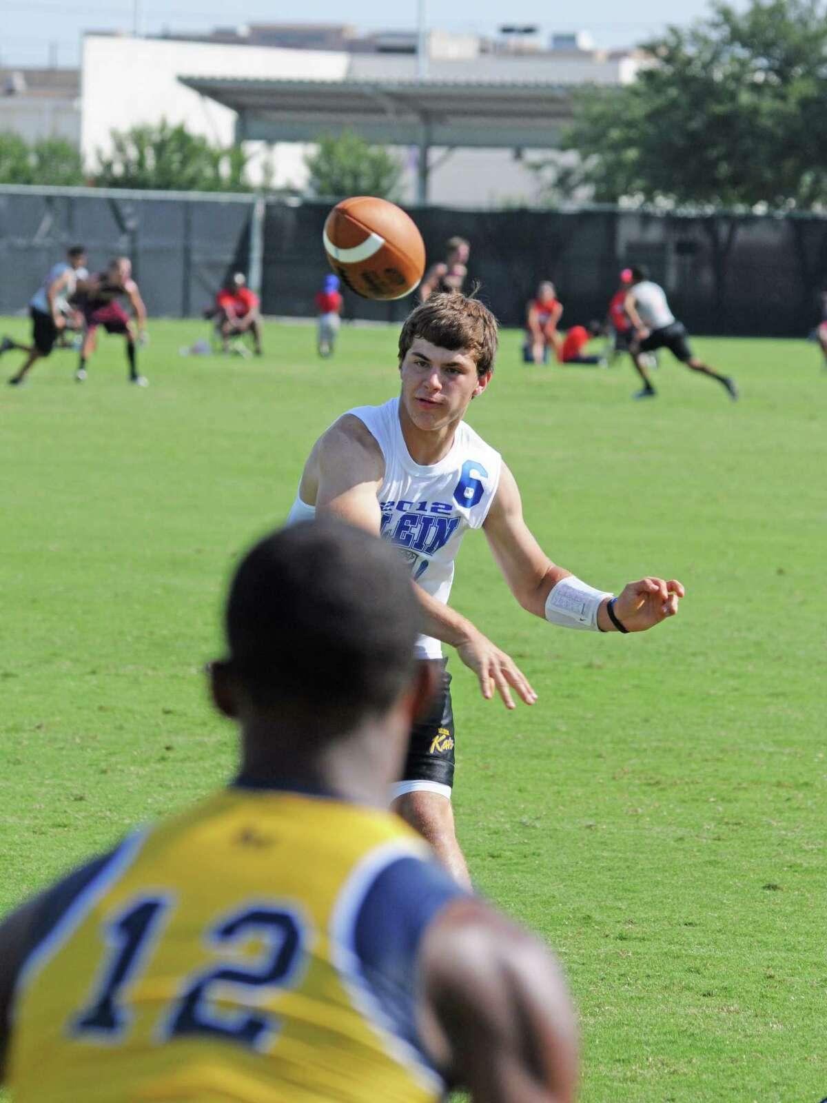 Klein junior quarterback Rainer Ausmus (6) has been impressive during the Beakats' 1-1 start to the 2012 season.