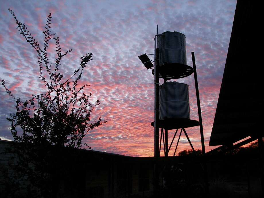 Sunset at Government Canyon headquarters. Photo: COURTESY TEXAS PARKS & WILDL