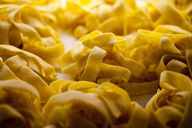 Housemade pasta offered at Salumeria Luca, one of David Fink's restaurants, in Carmel, Calif., Friday, September 7, 2012. Photo: Jason Henry, Special To The Chronicle
