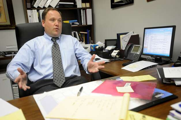 BISD's Chief Business Officer Robert Zingelmann announced Tuesday he plans to resign from the district. He will taking a new job with Region 4.  Guiseppe Barranco/The Enterprise Photo: Guiseppe Barranco / Beaumont