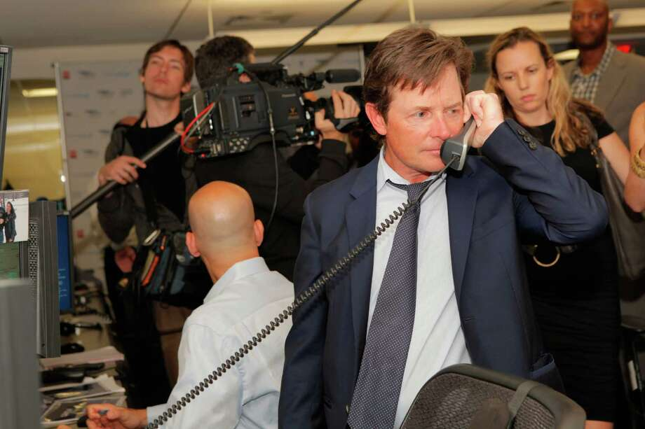 Michael J. Fox attends Cantor Fitzgerald & BGC Partners' annual charity day on 9/11 to benefit over 100 charities worldwide at Cantor Fitzgerald on Sept. 11, 2012, in New York City.  (Photo by Mike McGregor/Getty Images for Cantor Fitzgerald) Photo: Mike McGregor, Getty Images For Cantor Fitzgera / 2012 Getty Images