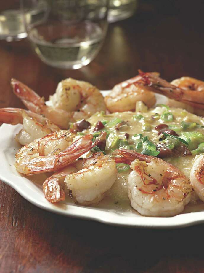 Paula Deen's Shrimp and Grits was served at her wedding to Michael Groover. Photo: Simon & Schuster