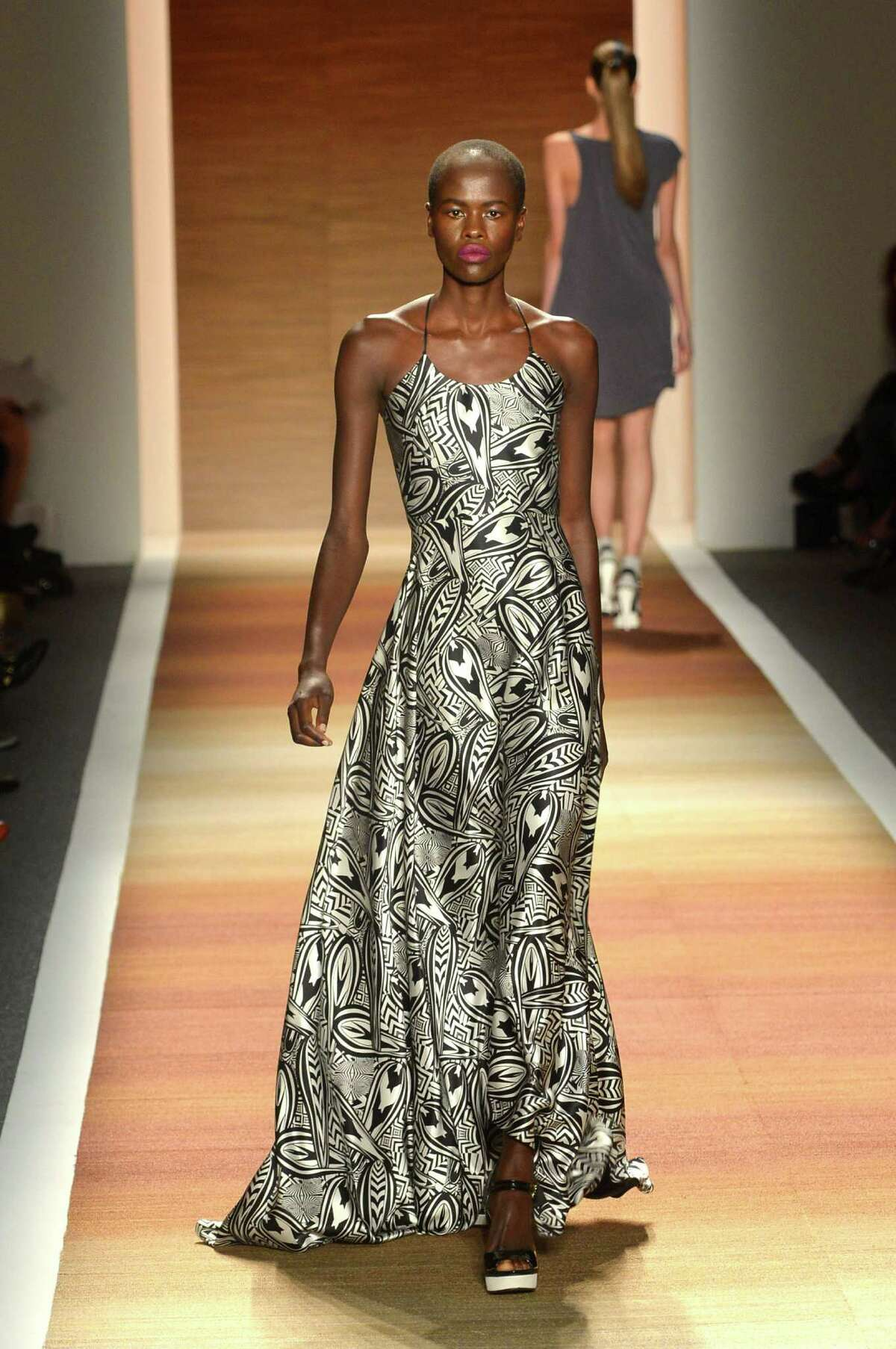 Cesar Galindo collection at NY Fashion Week for Thursday, Sept. 13. With Michael Quintanilla's sidebar to NYfashionMain.