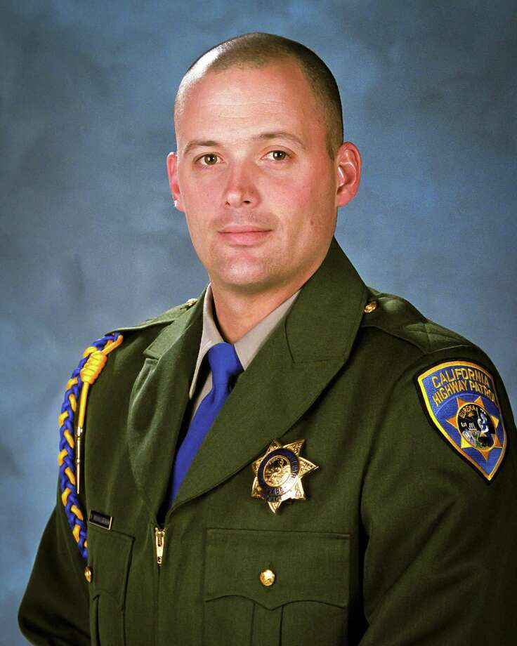 California Highway Patrol Officer Kenyon Youngstrom Photo: Associated Press / California Highway Patrol