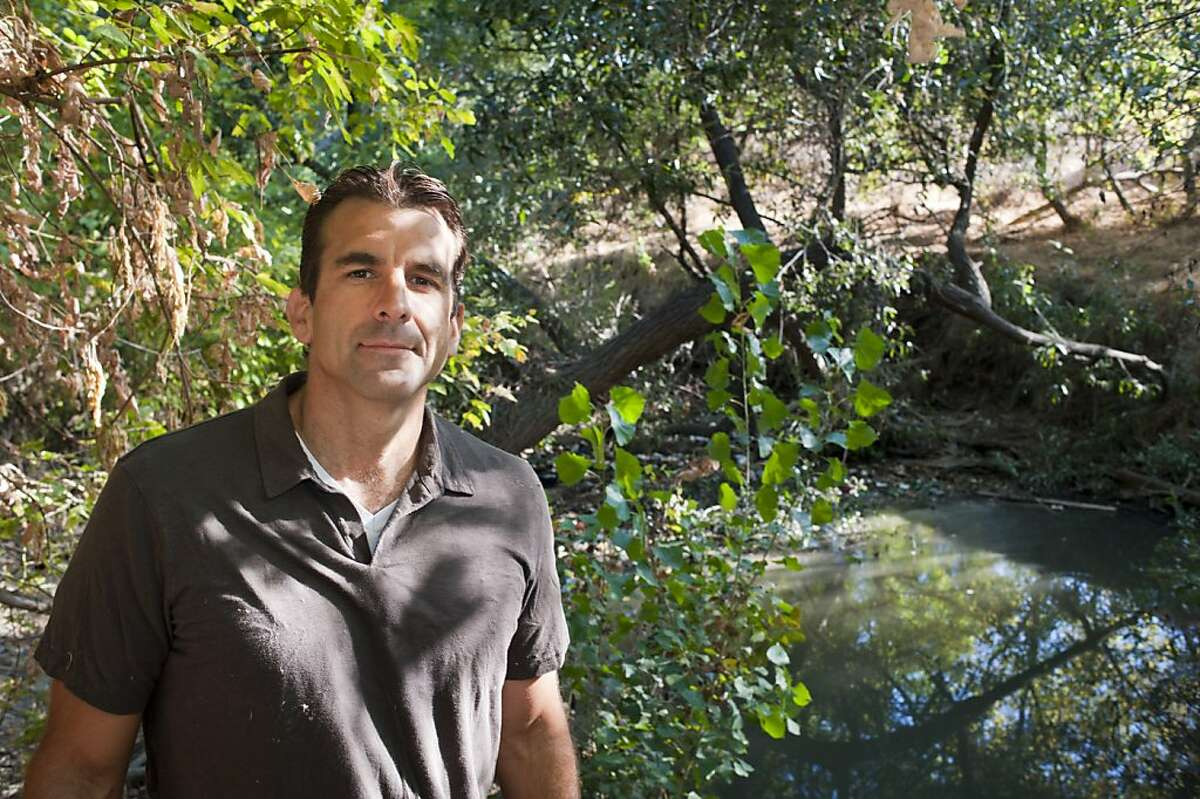 San Jose City Councilman Sam Liccardo is trying to ban styrofoam packaging at local businesses, a contributing factor to the accumulation of garbage at Coyote Creek in San Jose on Sept. 11th, 2012.
