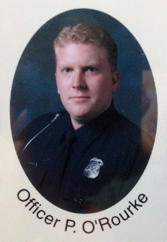 This photo provided by the West Bloomfield Police shows officer Pat O'Rourke. Police evacuated an upscale neighborhood and surrounded a house Monday in suburban Detroit, hours after O'Rourke was fatally shot while responding to a 911 call about trouble at the address. O'Rourke was shot about 10 p.m. Sunday inside the home in West Bloomfield Township and later died at a hospital, police Lt. Timothy Diamond said. (AP Photo/West Bloomfield Police) Photo: Associated Press