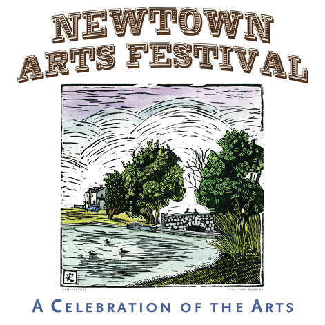 A contest was held to choose artwork for the 2012 Newtown Arts Festival poster. Here is the winning piece, created by Tracy Van Buskirk. Photo: Contributed Photo