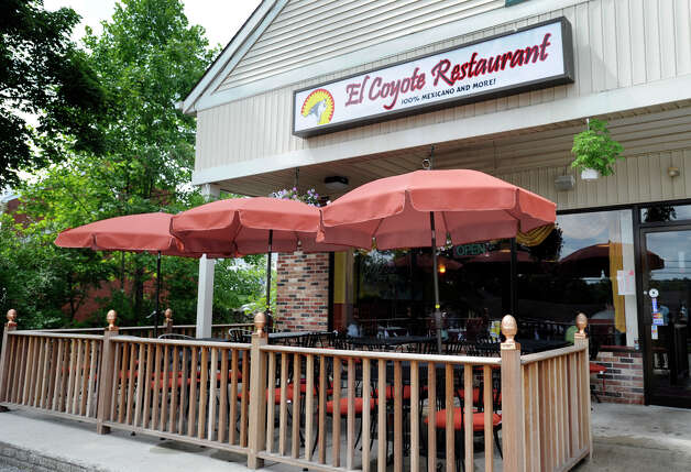 "The El Coyote Restaurant in Brookfield bills itself as ""100% Mexican and More!"" Monday, Aug. 27, 2012. Photo: Carol Kaliff / The News-Times"