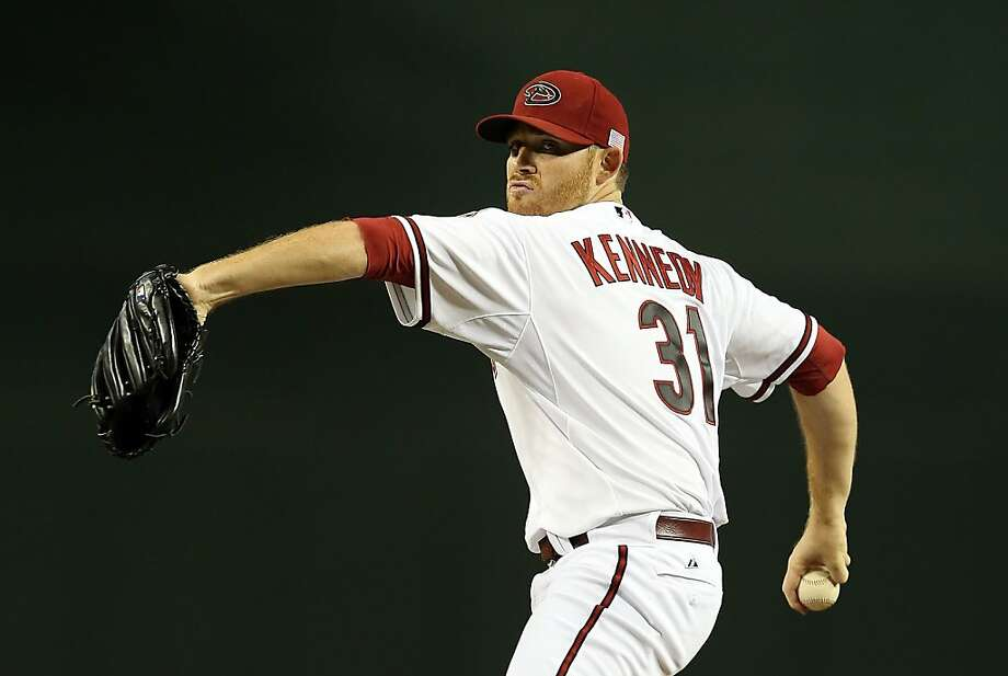 Starting pitcher Ian Kennedy #31 of the Arizona Diamondbacks pitches against the Los Angeles Dodgers. Photo: Christian Petersen, Getty Images