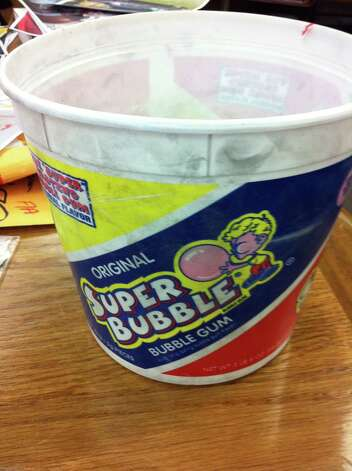 Prosecutors have said this gum bucket was stolen during an Aug. 1, 2010 robbery and shooting at Van's Grocery on Avenue A in Beaumont. Photo: Jefferson County DA