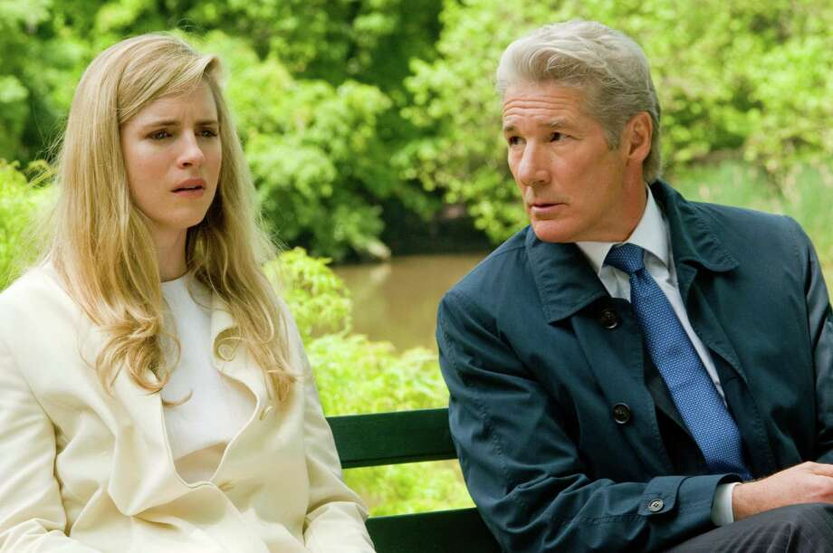 "Brit Marling and Richard Gere in ""Arbitrage,"" written and directed by Nicholas Jarecki. (Courtesy Myles Aronowitz/MCT) Photo: HANDOUT, McClatchy-Tribune News Service / MCT"