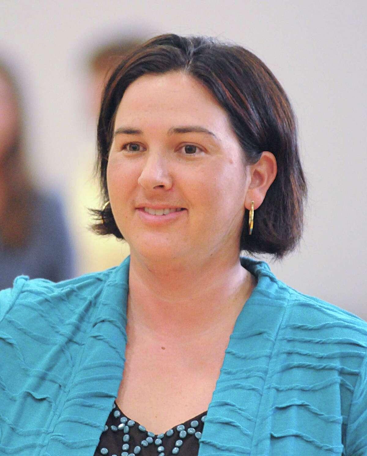 Kingwood volleyball coach Ashley Earhart