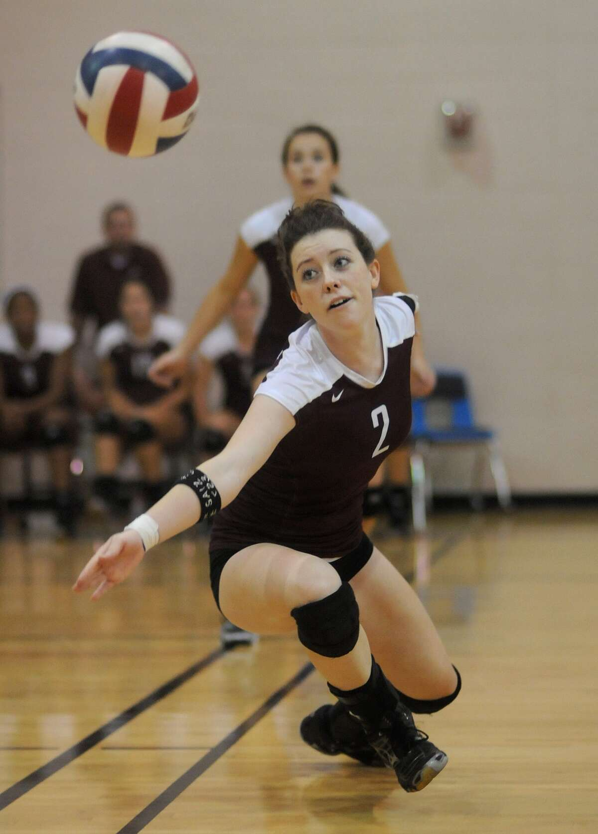 Cinco Ranch setter Courtney Cary is one of several key players for the Lady Cougars in their push for the district championship this season.