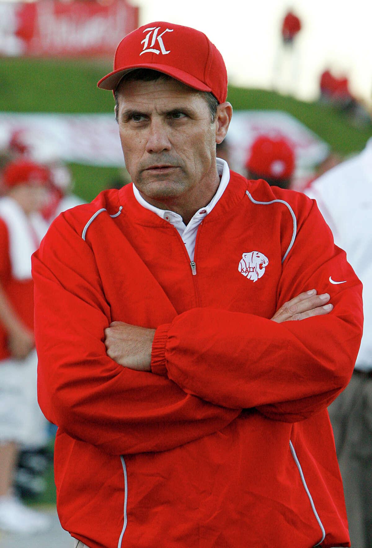 Katy Tigers head coach Gary Joseph.