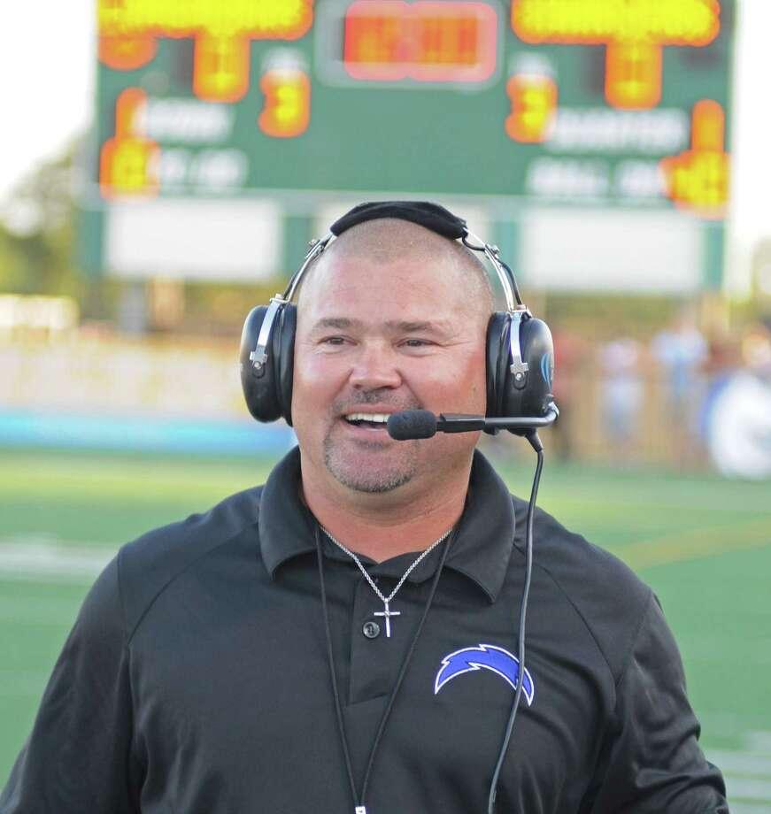 Clear Springs football coach Clint Hartman Photo: L. Scott Hainline / The Chronicle