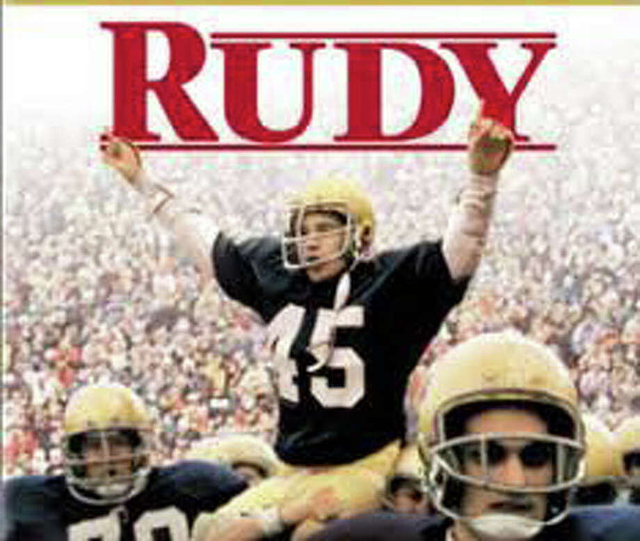 "The movie, ""Rudy,"" will be screened at 6:30 p.m. today at Staples High School's auditorium, sponsored by the Staples Gridiron Club and presented by the Westport Cinema Initiative. Photo: Contributed Photo / Westport News contributed"