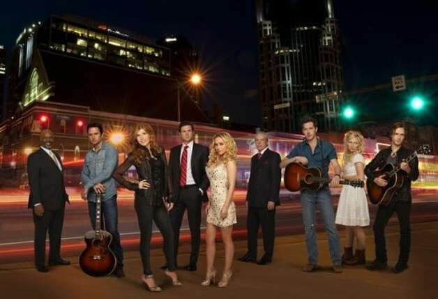 "NASHVILLE - ""Nashville"" stars Connie Britton as Rayna, Hayden Panettiere as Juliette, Powers Boothe as Lamar, Charles Esten as Deacon, Eric Close as Teddy, Clare Bowen as Scarlett, Jonathan Jackson as Avery, Sam Palladio as Gunnar and Robert Wisdom as Coleman. ""Nashville"" was written by Callie Khouri who is an executive producer along with R.J. Cutler and Steve Buchanan. The pilot for ""Nashville"" was directed by R.J. Cutler. The series is produced by Lionsgate, ABC Studios and Gaylord Entertainment. (ABC/CRAIG SJODIN)ROBERT WISDOM, CHARLES ESTEN, CONNIE BRITTON, ERIC CLOSE, HAYDEN PANETTIERE, POWERS BOOTHE, SAM PALLADIO, CLARE BOWEN, JONATHAN JACKSON (ABC)"