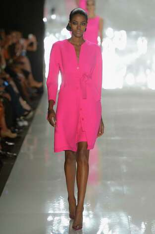 Ralph Rucci's high-octane color Photo: Frazer Harrison, Getty Images / 2012 Getty Images