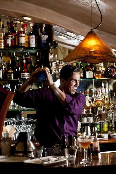 Bartender Anthony Vitacca has been making drinks at Montrio Bistro in Monterey for more than a de