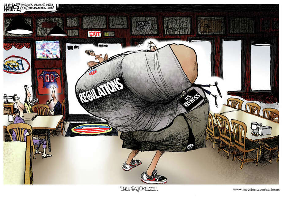 Today's editorial cartoon is by Michael Ramirez of Investor's Business Daily.