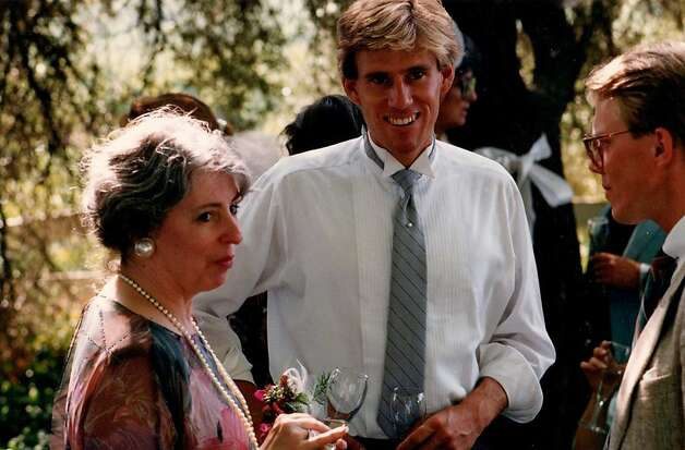 Photo of J. Christopher Stevens taken at his friend Paul Feist's wedding 25 years ago. Photo: -, Courtesy Paul Fiest