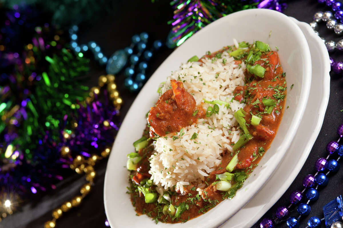 Shrimp Creole from the Big Easy Cafe at 4822 Walzem in Windcrest.