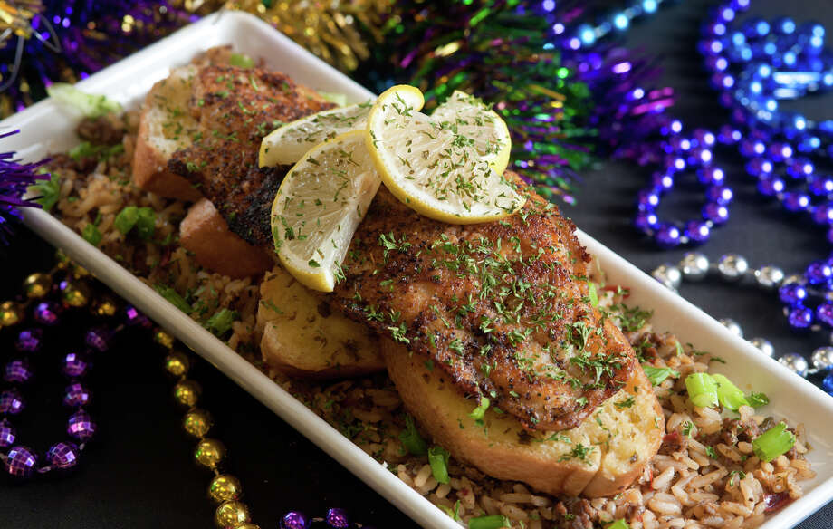 The Blackened Catfish plate  from the Big Easy Cafe at 4822 Walzem in Windcrest. Photo: Robin Jerstad, For The Express-News