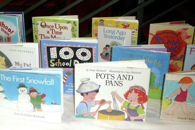 "Anne Rockwell is best known for her children's book, including ""Pots and Pans,"" which Rockwell refers to as one of her  ""sober little books about sacred objects."" Photo: Contributed Photo"
