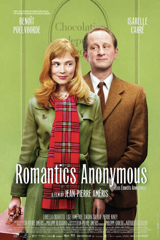 Darien Library will show the 2010 French film Romantics Anonymous, starring Benoît Poelvoorde, Isabelle Carré, and Lorella Cravotta Friday Sept. 28 at 6:30 p.m. and 8:30 p.m. It will be screened in French with English subtitles. Photo: Contributed