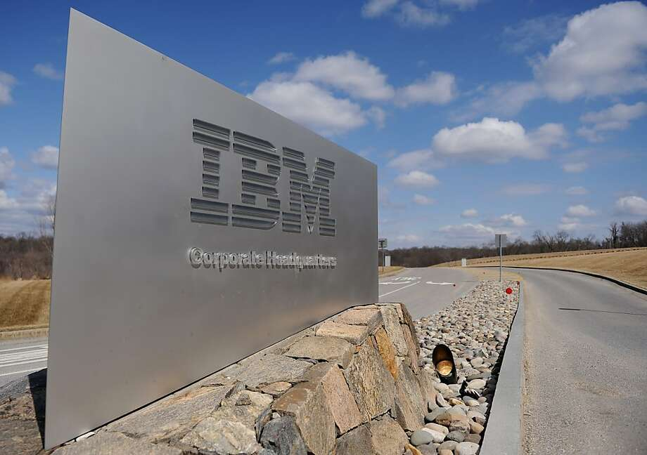 IBM Photo: Stan Honda, AFP/Getty Images