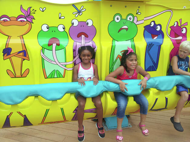 The Frog Hopper ride at Galveston Island Historic Pleasure Pier  Credit: Lisa Harrison Rivas, San Antonio Express-News