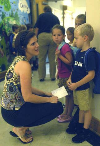 Opening day of classes at Booth Free School in Roxbury, Aug. 28, 2012 Photo: Norm Cummings
